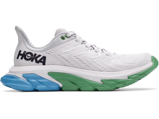 Hoka One One Clifton EDGE Running Shoes Men nimbus cloud/greenbriar